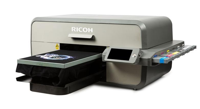 печать на одежде от Ricoh
