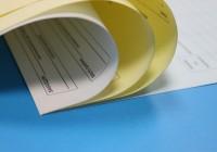 Печать самокопирующихся бланков