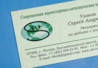 визитка _ свежая мята